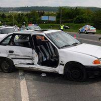 Két gyerek is megsérült az újbudai balesetben