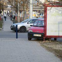 Parkolás a zöldben