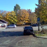 BMW-s jellegű parkolás