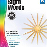 Spectrum Sight Words, Grade K Download Pdf