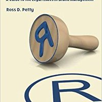 Branding Law: A Guide To The Legal Issues In Brand Management (Coursebook) Books Pdf File