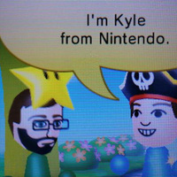 Kyle vár rád a StreetPass Mii Plaza-ban