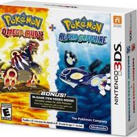Duplacsomagban is kapható lesz a Pokémon Omega Ruby és Alpha Sapphire