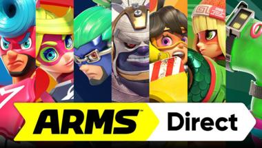 Csütörtök éjfélkor ARMS Direct-et tart a Nintendo