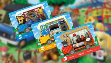 Jövőhéten érkeznek az új Animal Crossing amiibo kártyák
