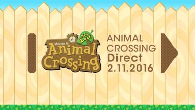 Holnap délután Animal Crossing Direct!