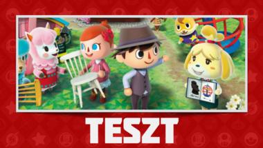 Animal Crossing: New Leaf Teszt