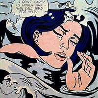 Festmények szombatra - Lichtenstein könnyező hősnői