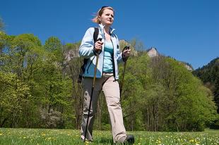 Sportok a szabadban – nordic walking