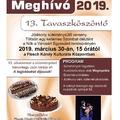 13. Tavaszköszöntő süteménysütő verseny 2019. március 30.