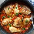 Marokkói fűszeres csirke