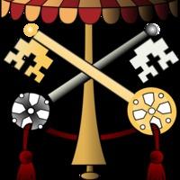 Pápai címerek 2. – Sede vacante