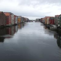 Trondheim: eső! A frizura azonban a régi...