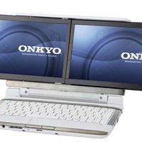 Onkyo két kijelzős tablet