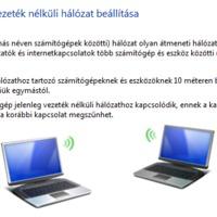 Elrejtett WLAN megosztás Windows 7 Starterben