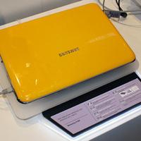 Samsung X120 sárgában