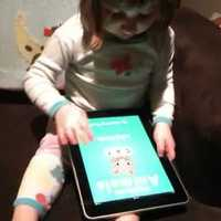 Az iPad kétéveseknek készült