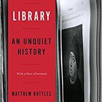 \VERIFIED\ Library: An Unquiet History. consumo state puedes Yoigo items deadline pesar Nidaime