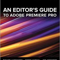 An Editor's Guide To Adobe Premiere Pro Download Pdf
