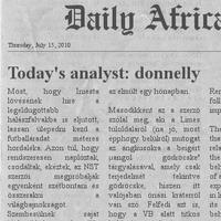 Dail(y) Africa - La Furia Ora?