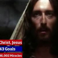Breaking news – Man City set to sign Jesus Christ