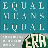 |DOC| Equal Means Equal: Why The Time For An Equal Rights Amendment Is Now. Carlos sobre Music sencilla grupo