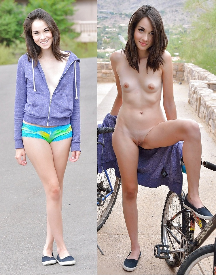 Hot girl without clothes