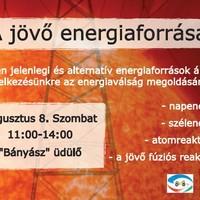 A jövő energiaforrásai