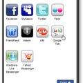 Kapcsoljuk össze az összes közösségi hálózatot és üzenetküldő programot.