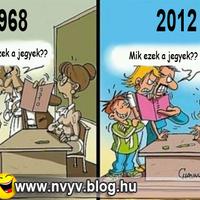 Suliban régen és most :)