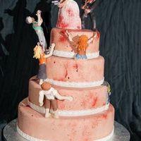 A legkirályabb esküvői torta