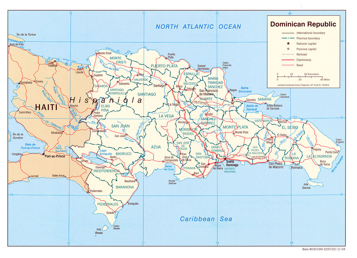 dominika térkép Dominikai Köztársaság, a karib térség kreol álma   Nyaralóhelyek dominika térkép
