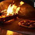 Nápolyi stílusú fatüzeléses pizza