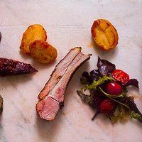 Bárányborda és Balkán-BBQ shake