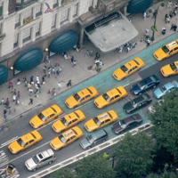 A nap képe - Taxik