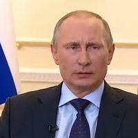 Vlagyimir Putyin: átmeneti lehet a megválasztott ukrán államfő