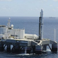Úszó platformról hajtottak végre sikeres rakétakilövést a Csendes-óceánon
