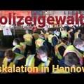 Eskalation bei Demo Hannover während Rede Arthur Helios - Polizeigewalt? Verhaftung Sperrstelle