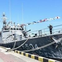 A török haditengerészet két hajója érkezett Ukrajnába