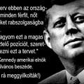 John Fitzgerald Kennedy az Amerikai Egyesült Államok 35. elnöke 1961 és 1963 között, amikor is november 22-én merénylet áldozata lett. Ez az utolsó nyilvános beszéde...