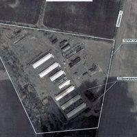 Műholdas képek - haderő-összpontosítás zajlik Szlavjanszk környékén