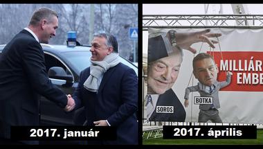"""Orbánnak gazsulált Botka - """"Hálából"""" teleplakátolták az országot, hogy Soros ügynöke"""