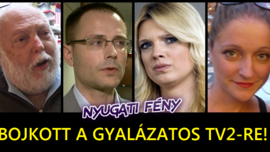 Pöcegödör szintjére züllesztette a TV2-t a Vajna-Szalai-páros – bojkottot hirdetünk!