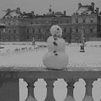Párizs hó alatt