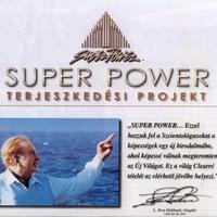 A Super Power épület és adományozási szintjei