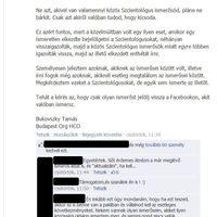 Ismét akcióban a szcientológusok Facebook-rendőrsége