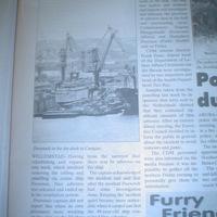 Kék azbesztet találtak a hatóságok a Freewindsen - lezárták a hajót