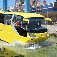 Kétéltű busz! Budapesten is lesz?