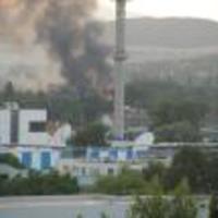 Raktártűz Óbudán - Fotóriport