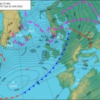 Meteorológiai elemzés - Surface Pressure Analysis